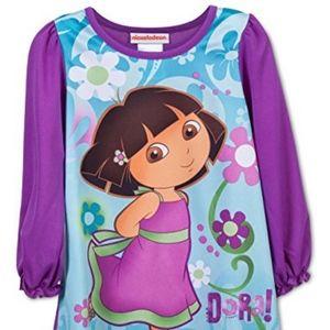 "Dora in purple dress ""Dora!"" Nightgown"